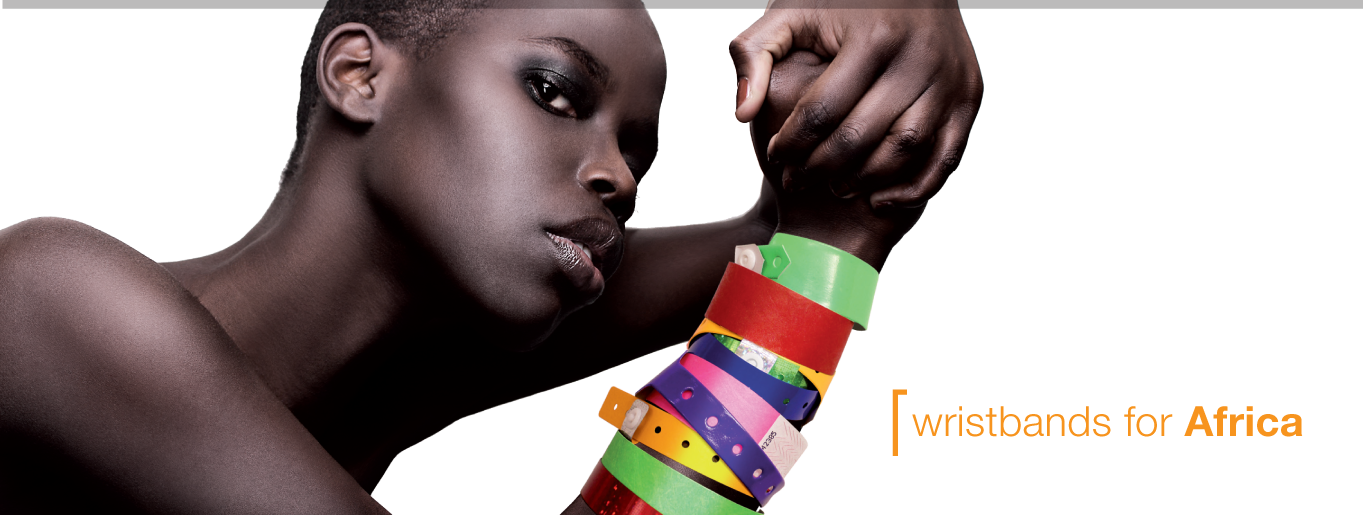 iBangele Wristbands For Africa Banner